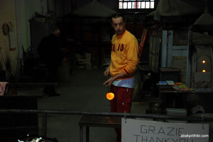 Glasswork Technique of Murano, Italy (6)