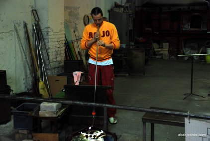 Glasswork Technique of Murano, Italy (7)