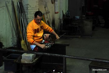 Glasswork Technique of Murano, Italy (8)