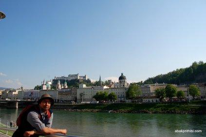 The Salzach River, Salzburg, Austria (1)