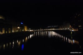 View of the Arno from the Ponte Vecchio, Florence, Italy (3)