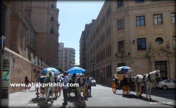 Historic center of Malaga city, Spain (1)