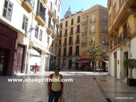 Historic center of Malaga city, Spain (10)
