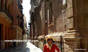 Historic center of Malaga city, Spain (2)
