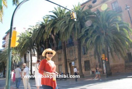 Historic center of Malaga city, Spain (4)