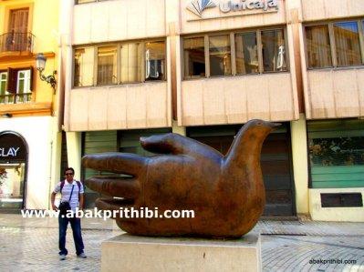 Historic center of Malaga city, Spain (9)