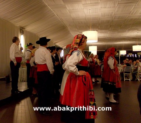 Portuguese folk dance,  Viana do Castelo, Portugal