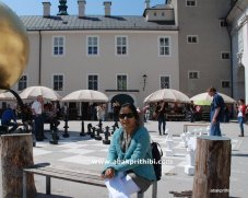 Chess in European City (3)