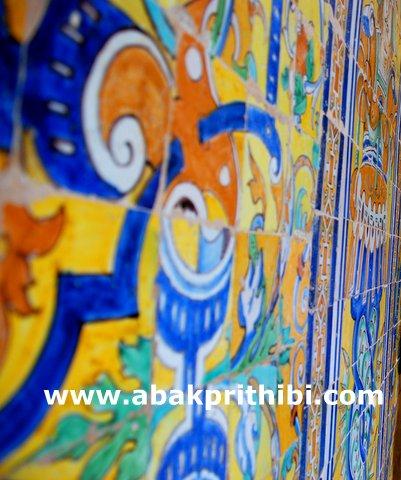 Moorish Tiles pattern of Spain (7)