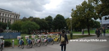 The Sigmund Freud Park, Vienna, Austria (2)