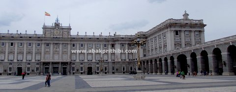 Royal Palace of Madrid, Spain (1)