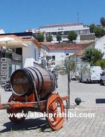 Port wine barrel