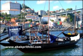 Rabelos, a type of boat traditionally used to transport barrels of port down the River Douro (1)