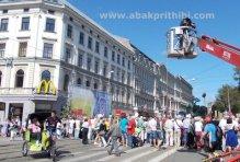 Rickshaw in Europe's City (1)