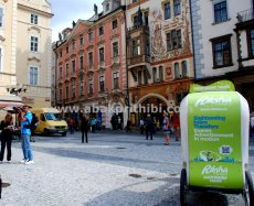 Rickshaw in Europe's City (4)