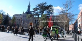 Rickshaw in Europe's City (5)