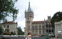 The decorative town hall of Sintra, Portugal (1)