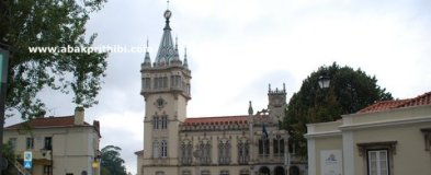 The decorative town hall of Sintra, Portugal (2)
