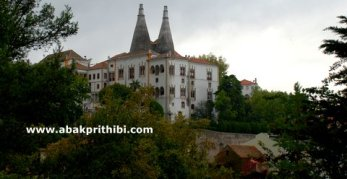 The Gothic Style National Palace of Sintra, Portugal (1)