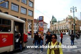 The Prague tramway (2)