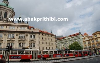 The Prague tramway (9)