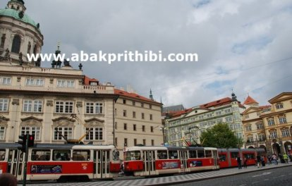 The Prague tramway (9)