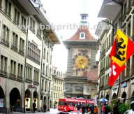 Trams in Bern, Switzerland (2)