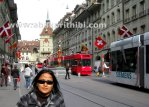 Trams in Bern, Switzerland (3)