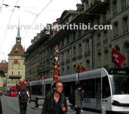 Trams in Bern, Switzerland (4)