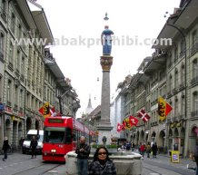 Trams in Bern, Switzerland (5)