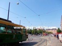 Trams in Helsinki, Finland (1)