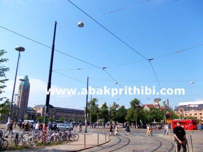 Trams in Helsinki, Finland (2)