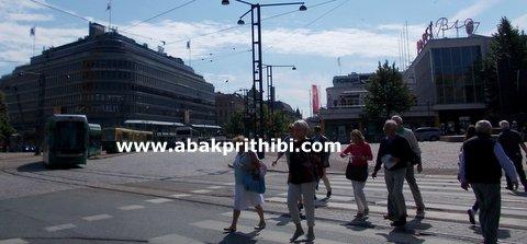 Trams in Helsinki, Finland (5)