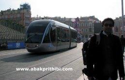 Trams in Nice, France