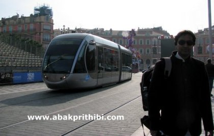 Trams in Nice, France