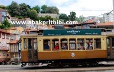 Trams in Porto, Portugal