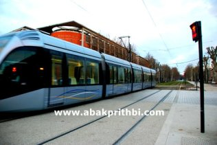 Trams in Toulouse, France (1)