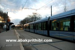 Trams in Toulouse, France (2)