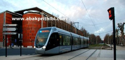 Trams in Toulouse, France (3)