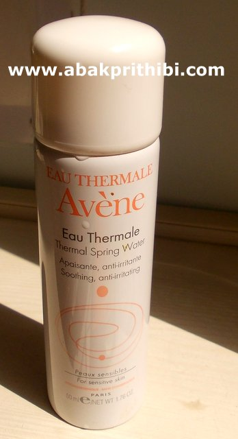 Avene Thermal spring water.JPG