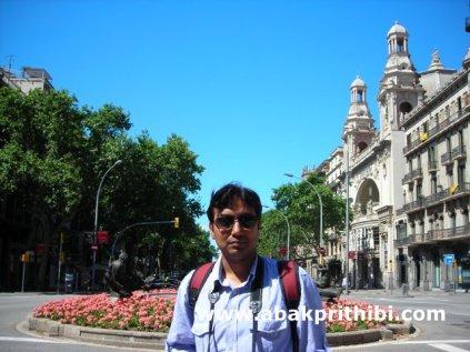 Gran Via de les Corts Catalanes, Barcelona, Spain (1)