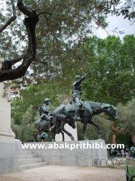 Don Quixote and Sancho Panza, Plaza de España, Madrid, Spain (4)