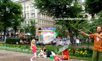 Rainbow in Bubbles, Helsinki (1)
