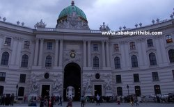 The Hofburg imperial palace, Vienna, Austria (1)