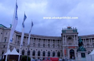 The Hofburg imperial palace, Vienna, Austria (2)