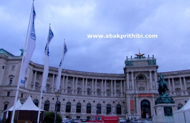 The Hofburg imperial palace, Vienna, Austria (2)