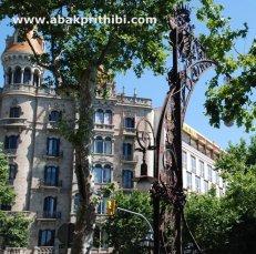 Street lights of Barcelona, Spain (1)