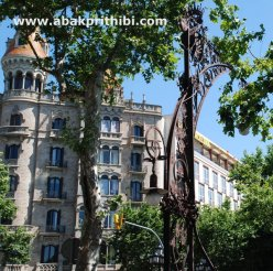 Street lights of Barcelona, Spain (1)