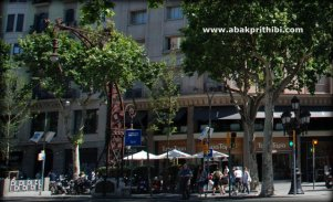 Street lights of Barcelona, Spain (6)