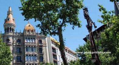 Street lights of Barcelona, Spain (7)